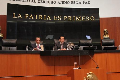 El día 5 de julio del 2016 se llevó a cabo en el Senado de la República la Sesión extraordinaria.