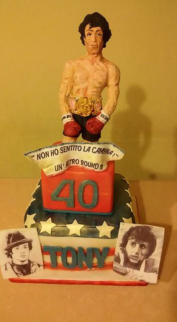 Rocky Balboa Cake by Cira Amato