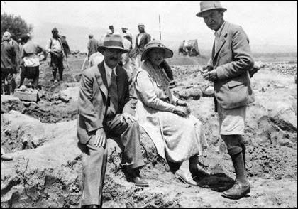 Agatha Christie e Max Mallowan