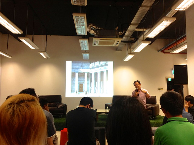 Architecture Appreciation Session, SingaPlural 2015, 99 Beach Road, Singapore