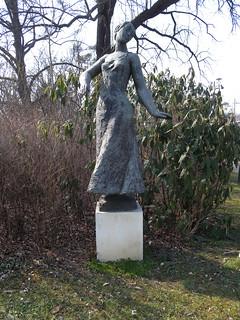Image of  Oscar Straus. vienna wien park wandern parkanlage oscarstraus rundumadum