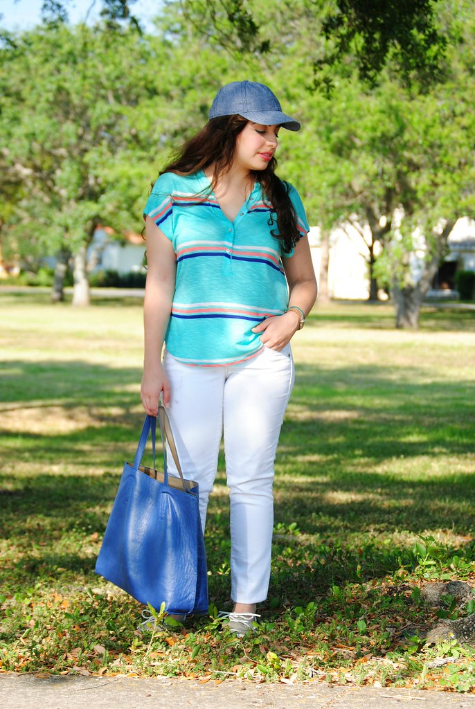 sporty casual weekend outfit
