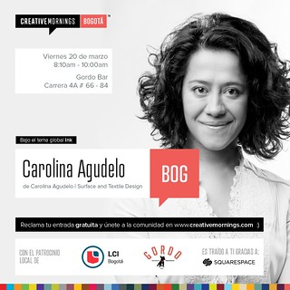 CreativeMornings/ Bogotá with Carolina Agudelo