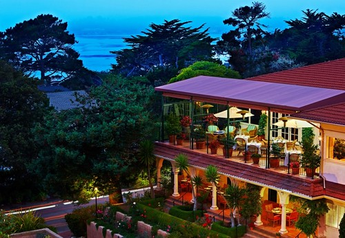 La Playa Carmel Exterior Arial