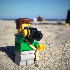 Mini me on the beach