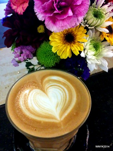 Flowery Latte