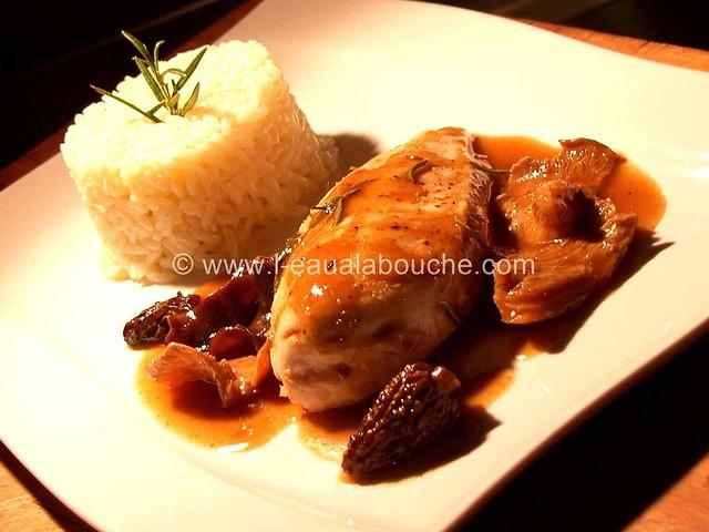 Blanc de Poulet aux Champignons à la Sauce Madère © Ana Luthi 007
