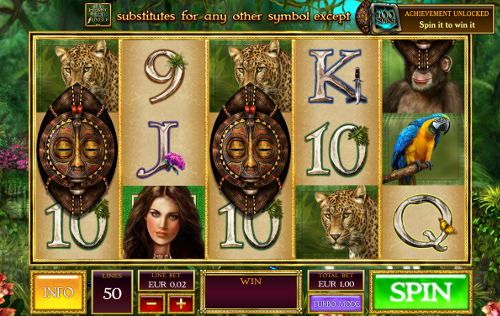 free Heart of the Jungle slot bonus feature