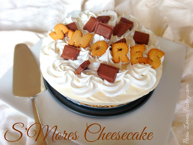 No-Bake S'Mores Cheesecakr