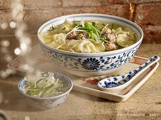 Cellophane noodle with ground pork soup - Vietnam Food Stylist