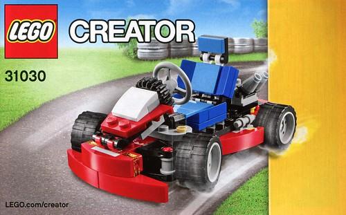 LEGO Creator 31030 Red Go-Kart ins02