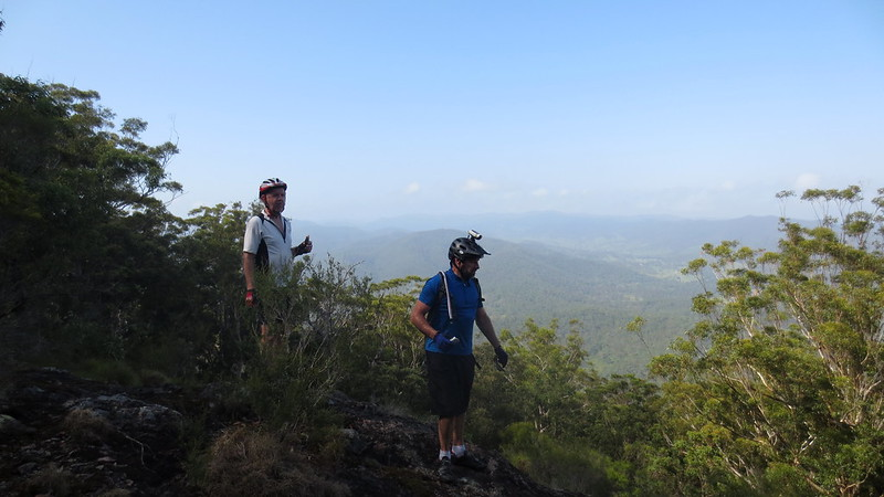Russel and Rick at Mount Byron Summit
