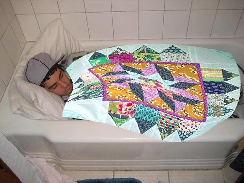 bathroom quilts