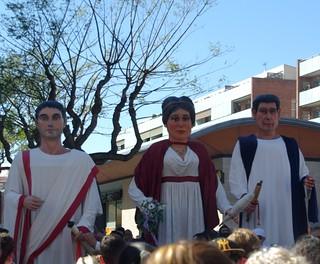 Gegants romans a Premià de Mar
