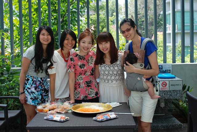 L-R: Cherie, Rachel, Wenmei, Priscilla, Vanessa (missing Joycelyn)