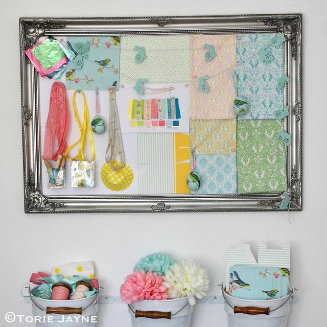 'Pretty Colourful' Easter mood board