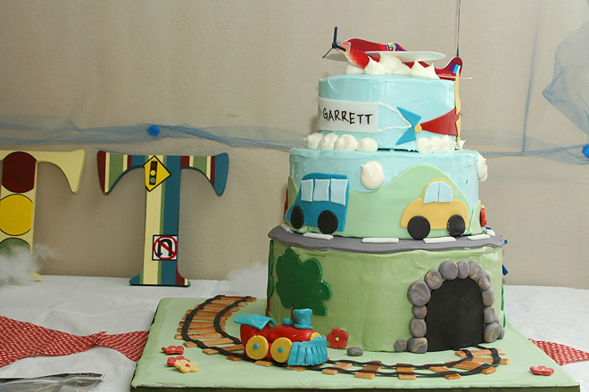 tranportation cake 1