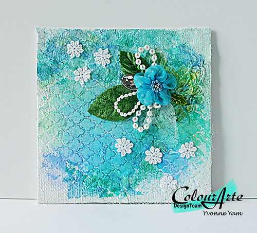 Mixed-media-canvas-by-Yvonne-Yam-for-ColourArte