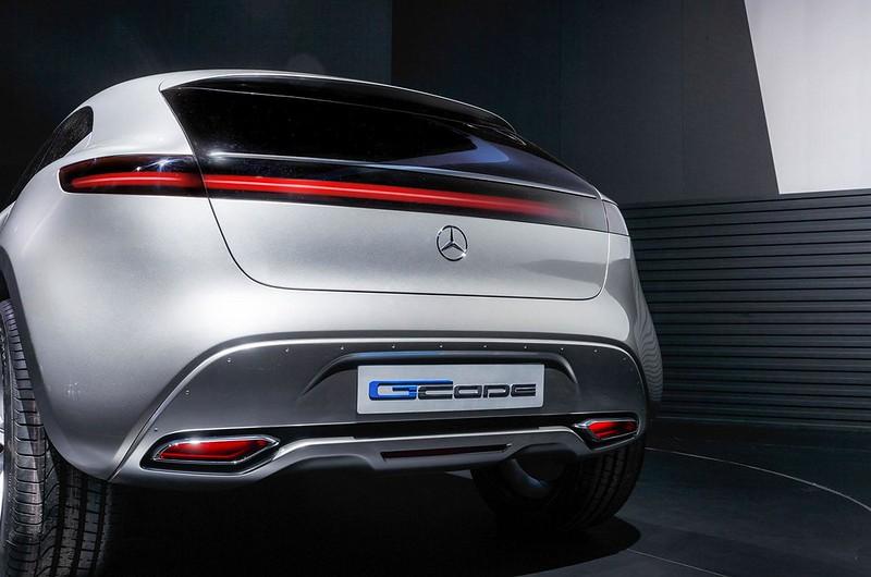 Китайский дизайн Mercedes-Benz G-Code