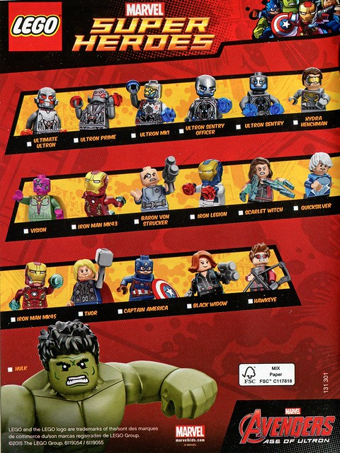 Super Heroes Figures 2015 Marvel