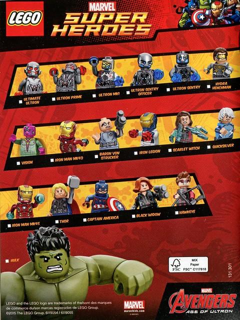 Super Heroes Figures 2015 Marvel