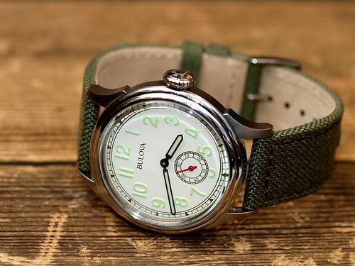 BULOVA for J.Crew / Air Warden Watch
