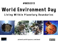 June 5 is World Environment Day: Living within Planetary Boundaries #WED2015