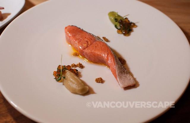 PiDGiN salmon, fish roe