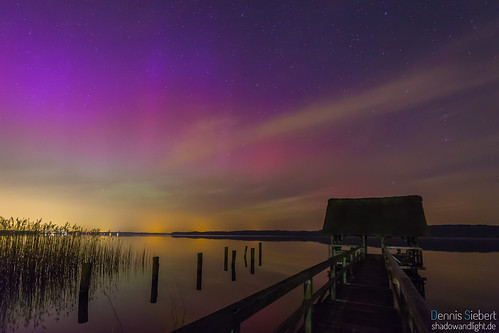 aurora borealis steg buchholz polarlicht ratzeburgersee