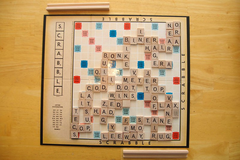 92/365. The Most Epic Scrabble Game Of All Time.