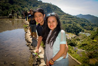 Janna and Nikko Banaue Rice Terraces