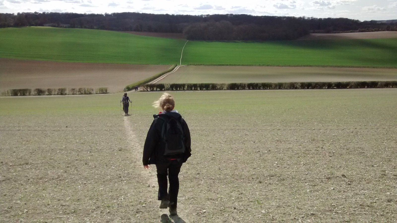 Wye Circular 11th April 2015 The journey home