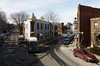 Montréal, 25 mars 2015. Coin Nord-Est des rues Drolet et Gilford.