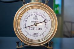 barometer, gauge, measuring instrument, weighing scale,