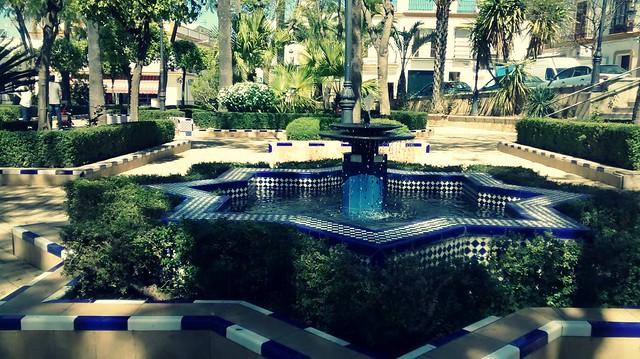 Los Jardines, Paradas (Sevilla)