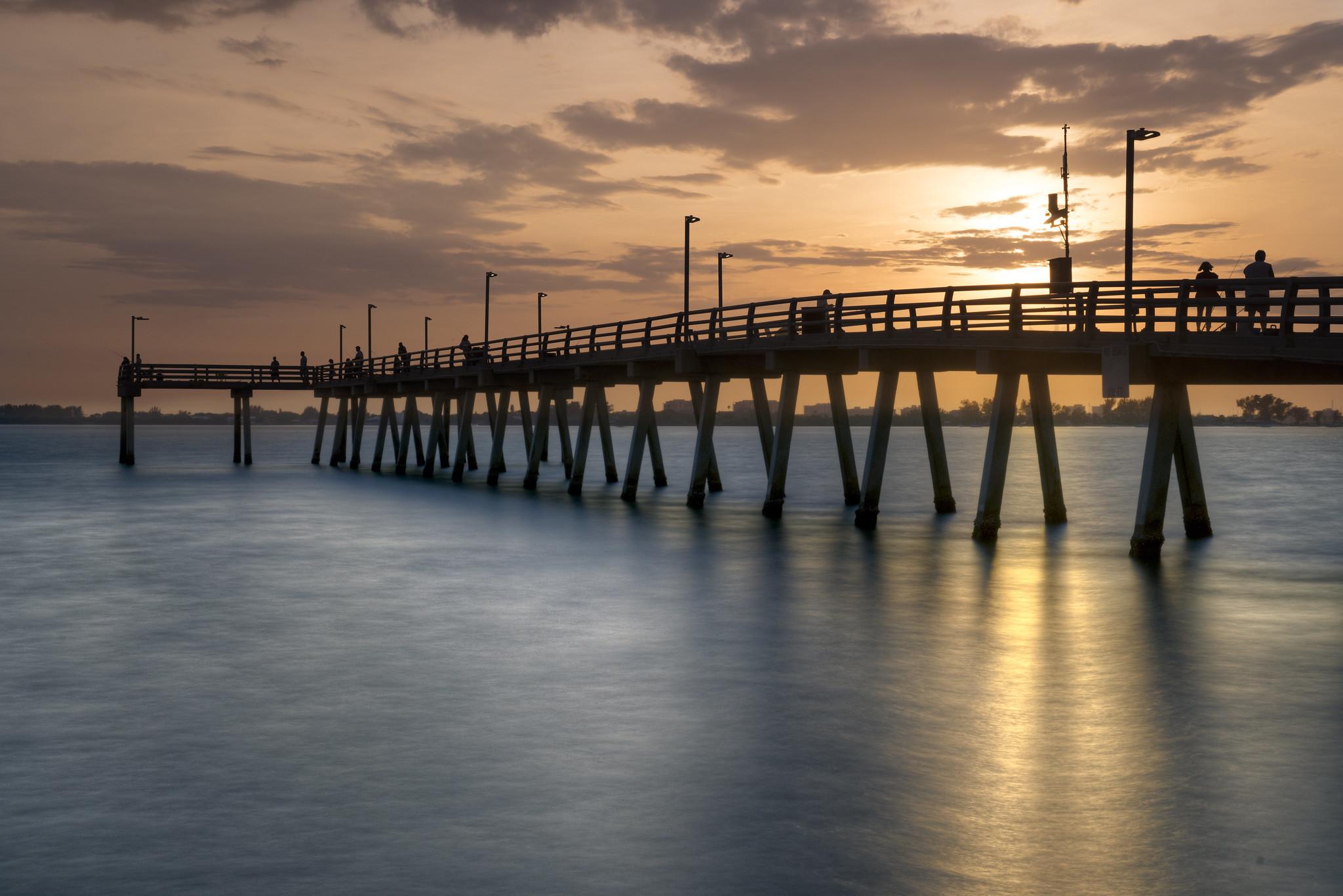 Sarasota bay fishing pier flickr photo sharing for Sarasota fishing pier