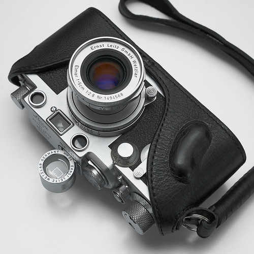 50mm finder on Leica IIIf