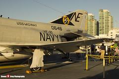 153030 NE-101 - 1557 - US Navy - McDonnell QF-4N Phantom II - USS Midway Museum San Diego, California - 141223 - Steven Gray - IMG_6630