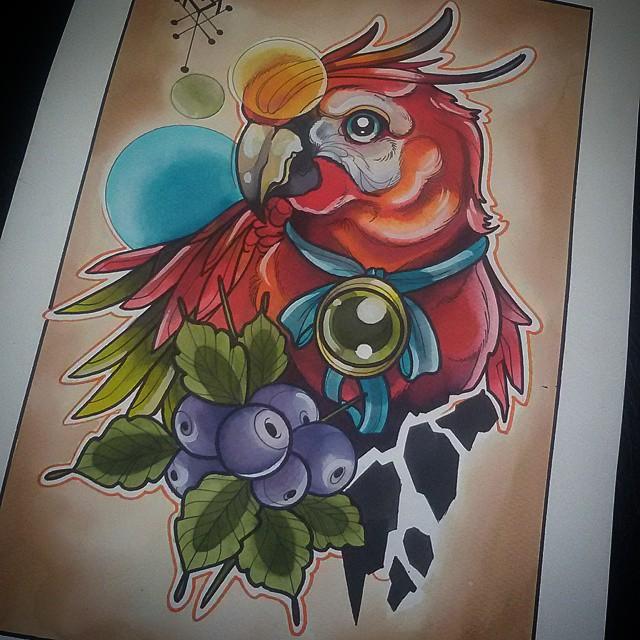 Sketch Guacamaya Tattoo Tatuaje Ta2 Design Diseno In Flickr