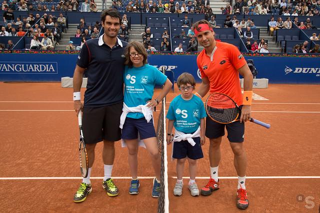 Semifinal entre Pablo Andújar y David Ferrer