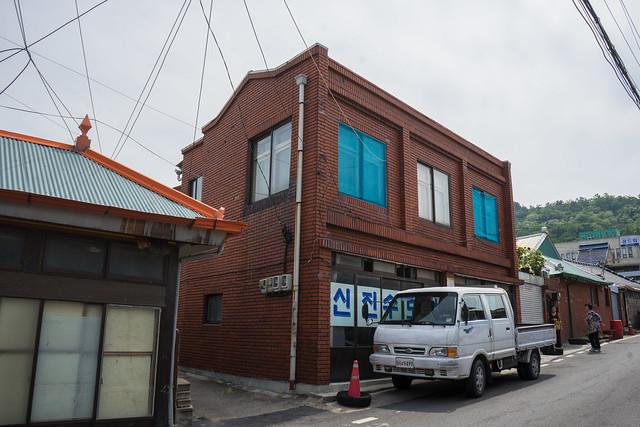 Possible colonial building, Mokpo, South Korea