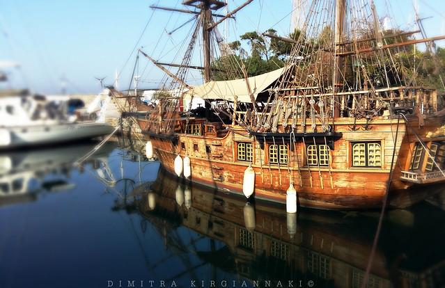 pirates' boat