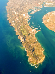 archipelago, bird's-eye view, cape, sea, bay, island, terrain, artificial island, aerial photography, coast,