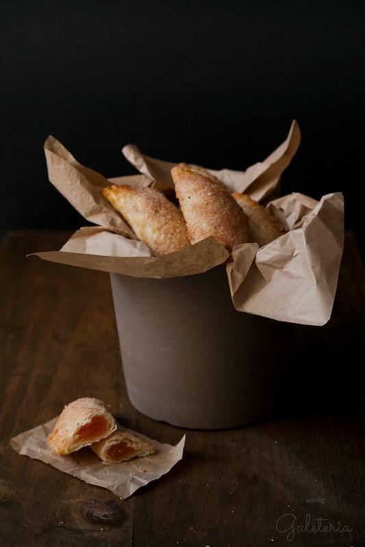 empanadillas dulces de calabaza y naranja