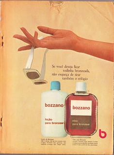 1966 - Bozzano tanning oil and lotion