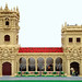 Balboa Park towers and colonnade by Parks and Wrecked Creations
