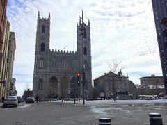 Old Montreal: the Notre-Dame cathedral