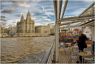 'On The Ferry' @ River Mersey.
