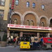 Pedal Cabs Lined Up Outside the Al Hirschfeld / Martin Beck Theatre 0630