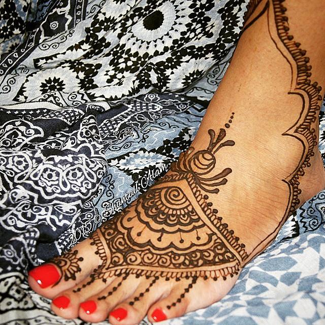 Henna Practice Original Design Henna Hennashantalla Shantallalam